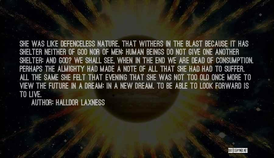 Once A Dream Quotes By Halldor Laxness