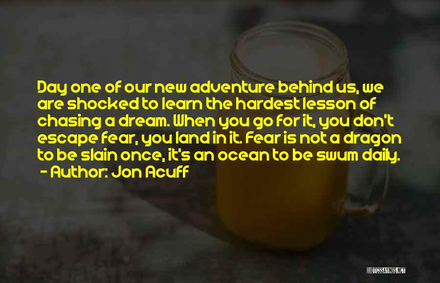 Once A Dream Quotes By Jon Acuff