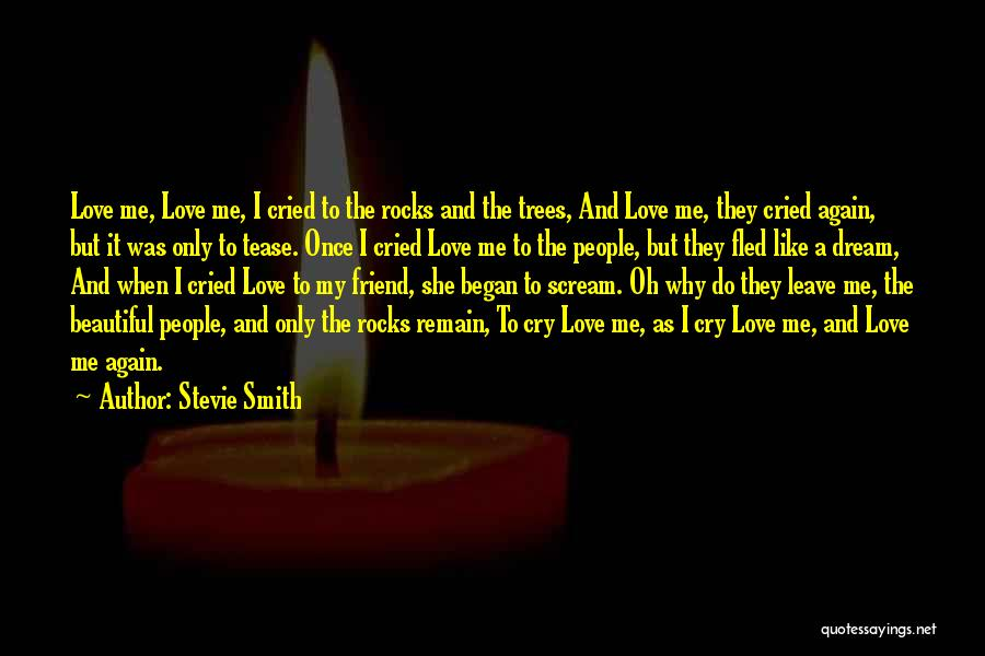 Once A Dream Quotes By Stevie Smith