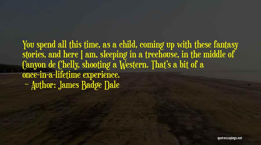 Once In Lifetime Experience Quotes By James Badge Dale