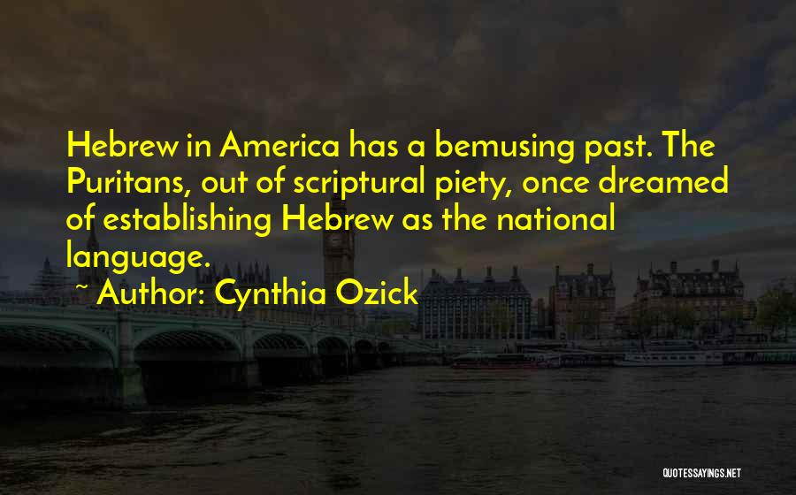 Once Upon In America Quotes By Cynthia Ozick