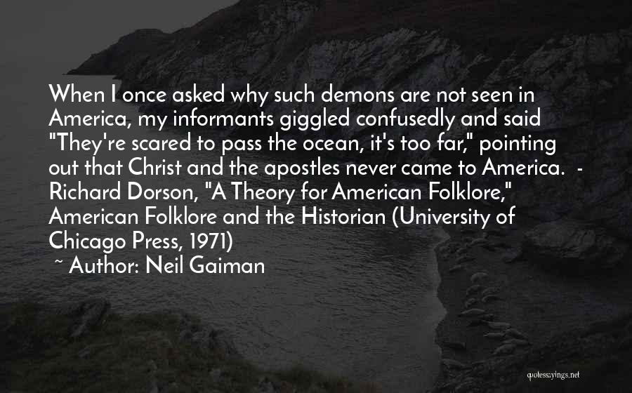 Once Upon In America Quotes By Neil Gaiman