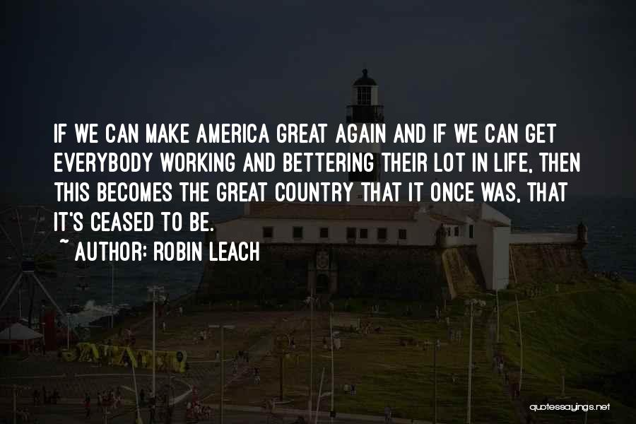 Once Upon In America Quotes By Robin Leach