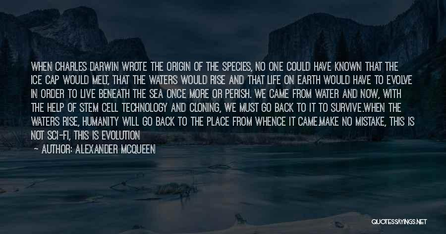Once Wrote Quotes By Alexander McQueen
