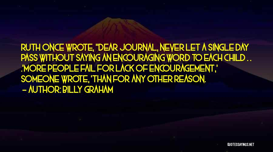 Once Wrote Quotes By Billy Graham