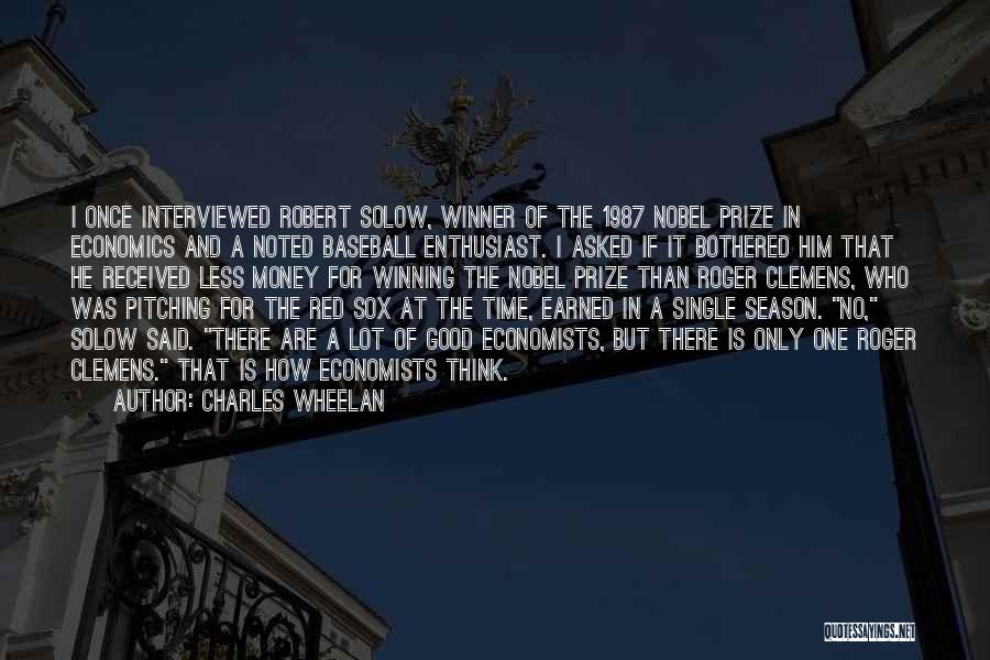 Once You Go Red Quotes By Charles Wheelan