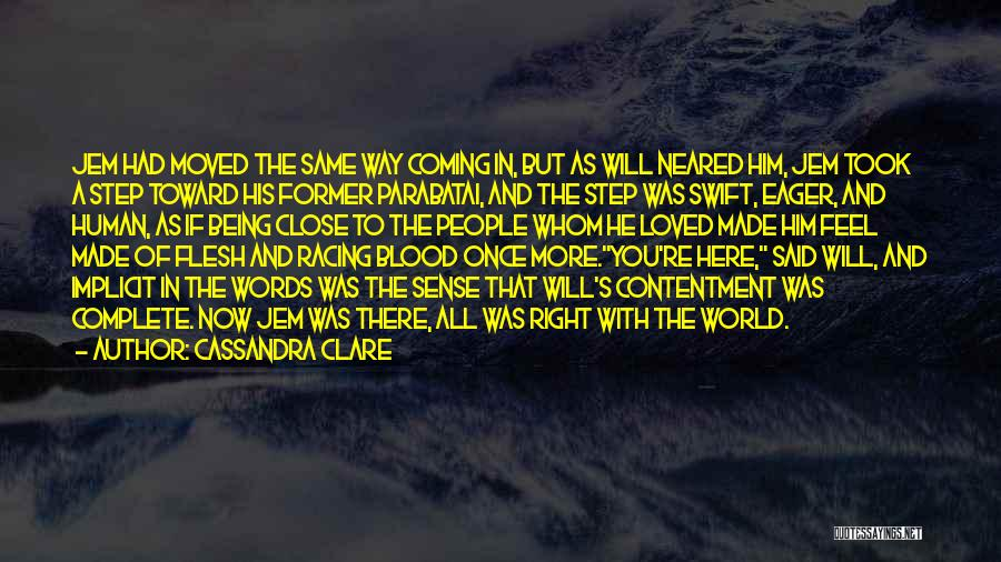 Once You're In Love Quotes By Cassandra Clare