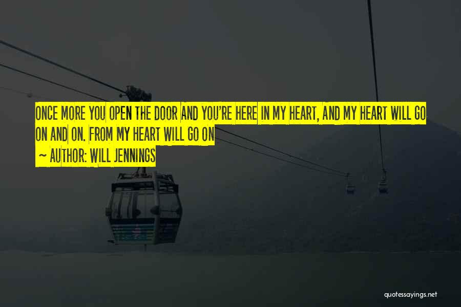 Once You're In Love Quotes By Will Jennings