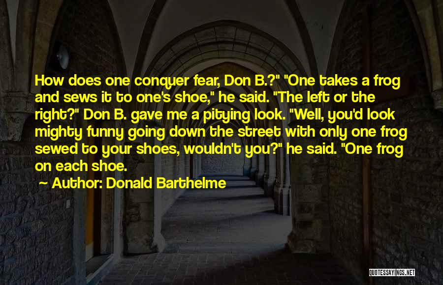 One D Funny Quotes By Donald Barthelme