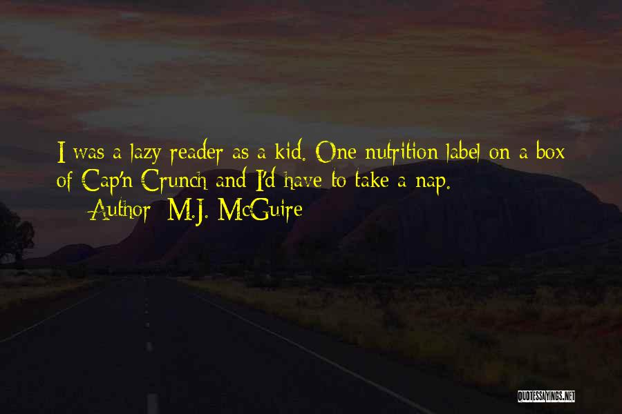 One D Funny Quotes By M.J. McGuire