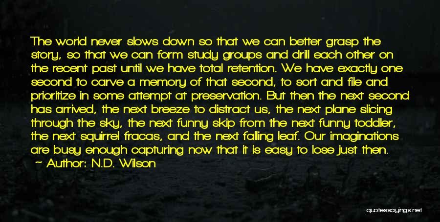 One D Funny Quotes By N.D. Wilson
