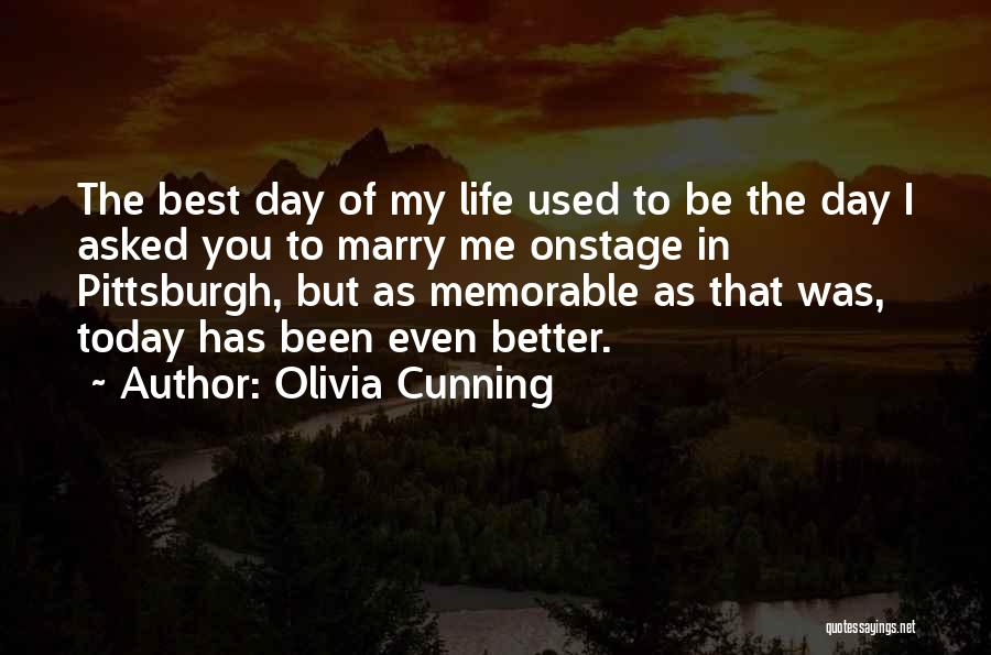 One Day Things Will Get Better Quotes By Olivia Cunning
