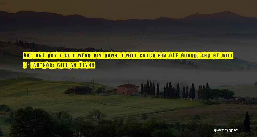 One Day You'll Lose Me Quotes By Gillian Flynn