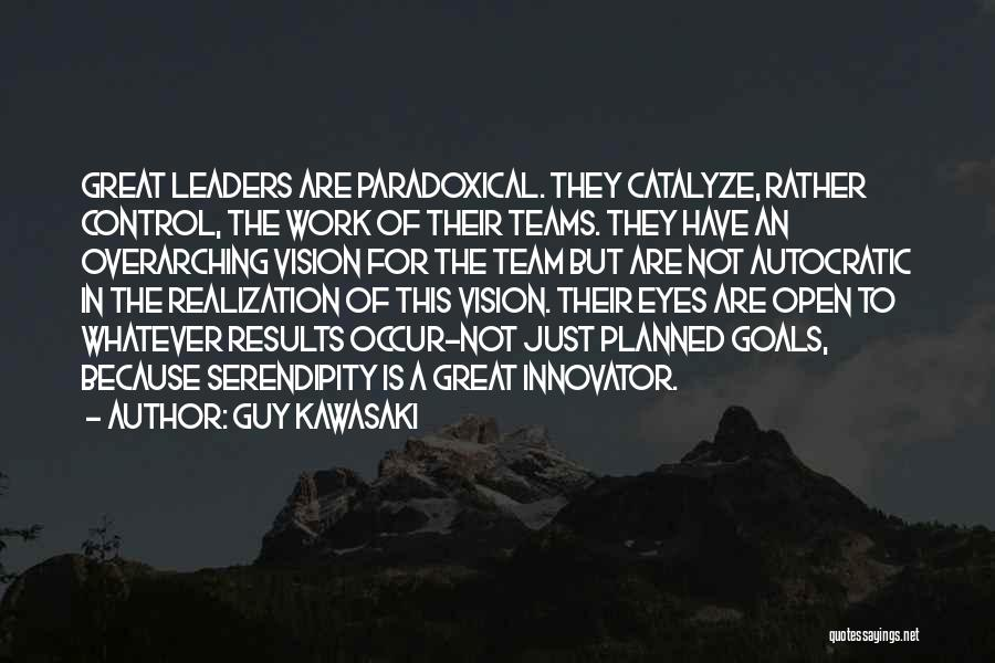 One Goal One Vision Quotes By Guy Kawasaki