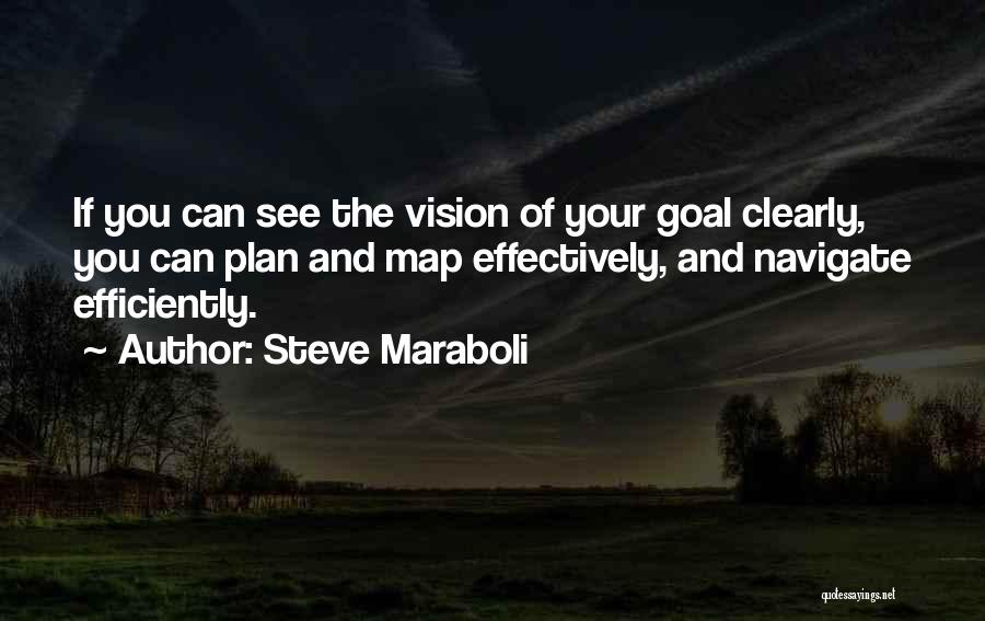 One Goal One Vision Quotes By Steve Maraboli