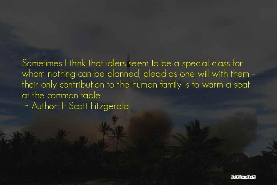 One Human Family Quotes By F Scott Fitzgerald