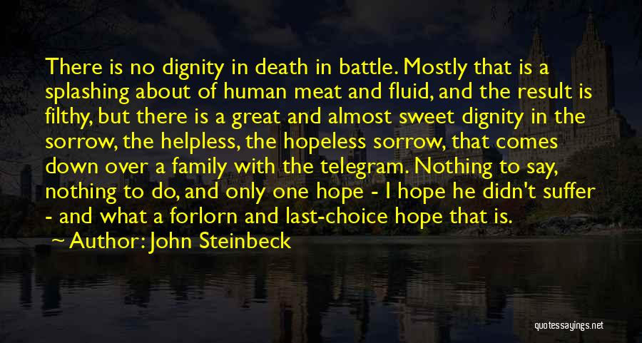 One Human Family Quotes By John Steinbeck