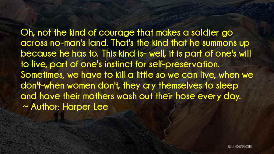 One Man Soldier Quotes By Harper Lee