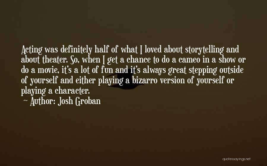 One More Chance Movie Quotes By Josh Groban