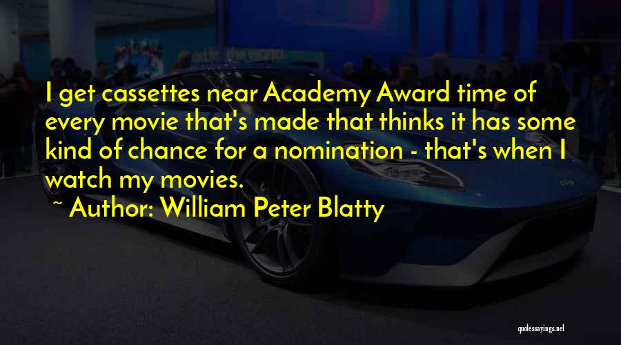 One More Chance Movie Quotes By William Peter Blatty