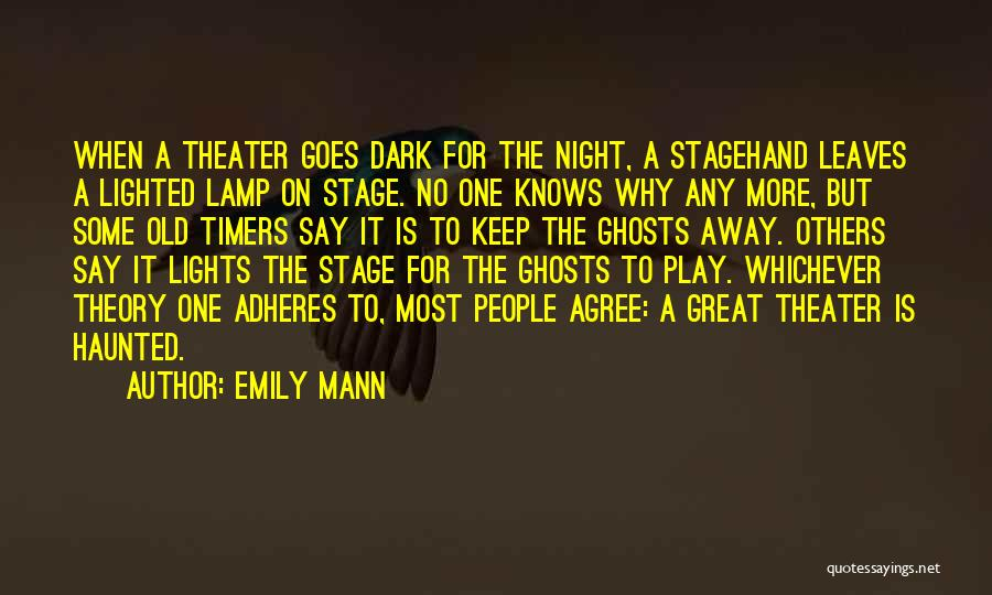 One More Night Quotes By Emily Mann