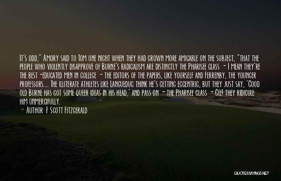 One More Night Quotes By F Scott Fitzgerald