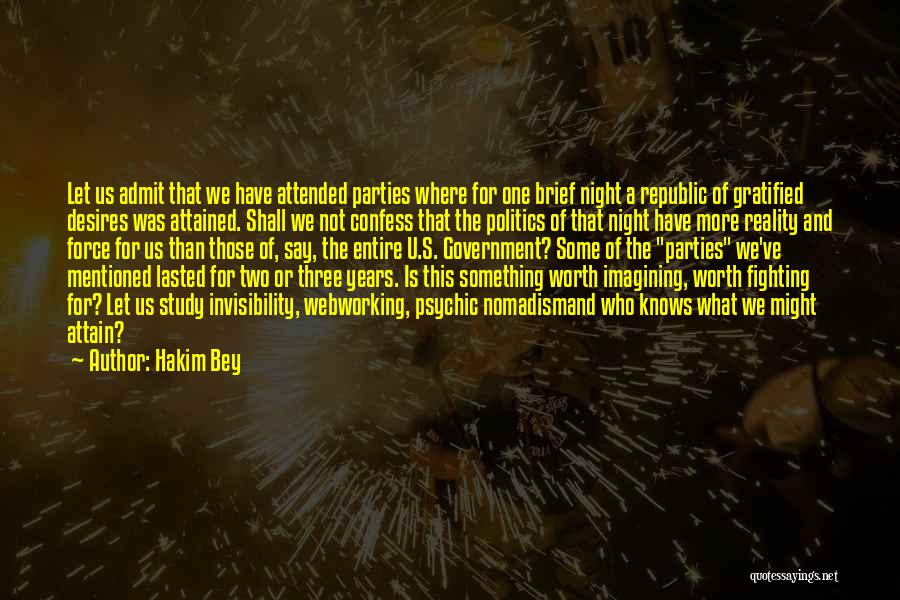 One More Night Quotes By Hakim Bey