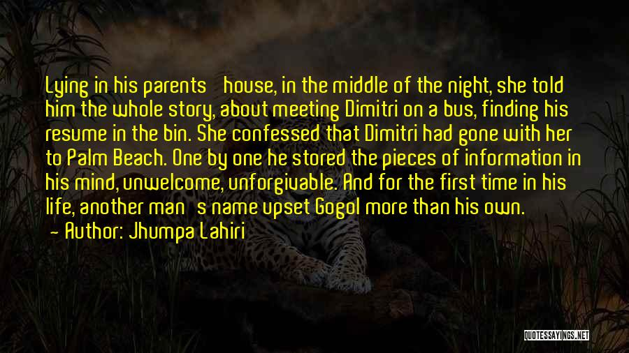 One More Night Quotes By Jhumpa Lahiri