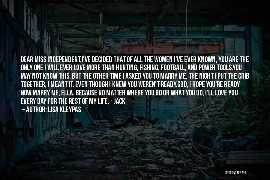 One More Night Quotes By Lisa Kleypas