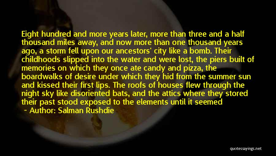 One More Night Quotes By Salman Rushdie