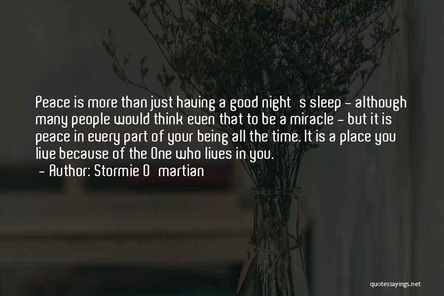 One More Night Quotes By Stormie O'martian