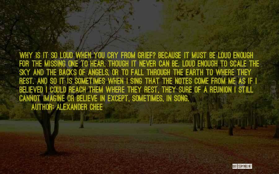 One Must Fall Quotes By Alexander Chee
