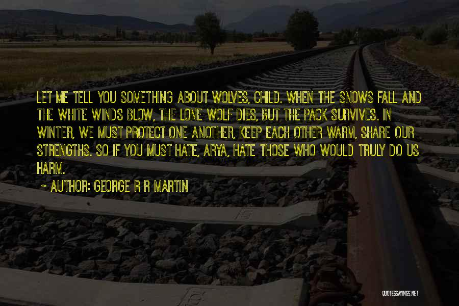 One Must Fall Quotes By George R R Martin
