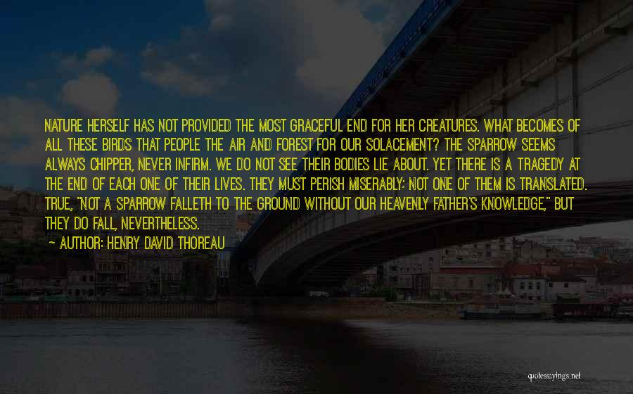 One Must Fall Quotes By Henry David Thoreau
