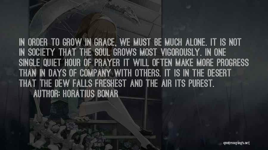One Must Fall Quotes By Horatius Bonar