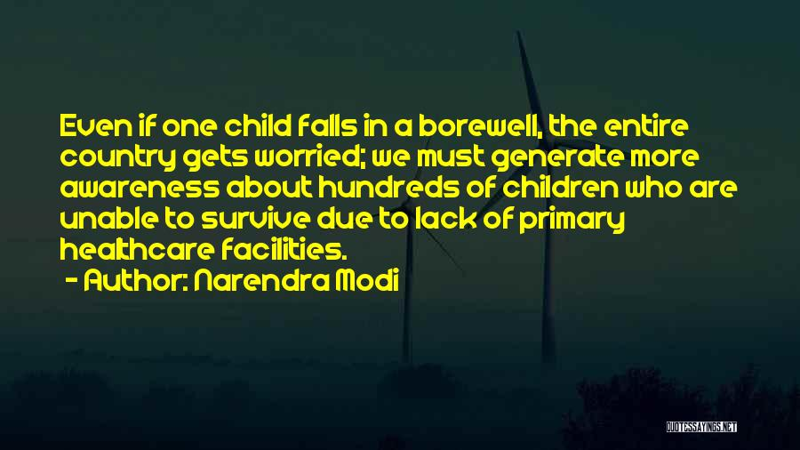 One Must Fall Quotes By Narendra Modi