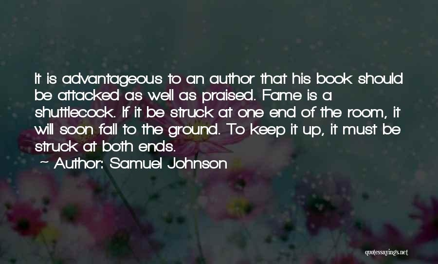 One Must Fall Quotes By Samuel Johnson