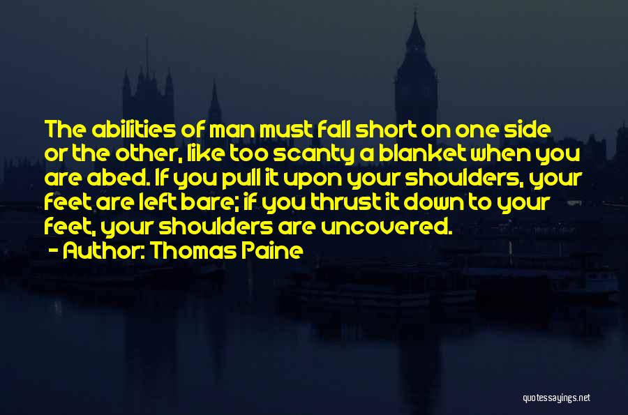 One Must Fall Quotes By Thomas Paine
