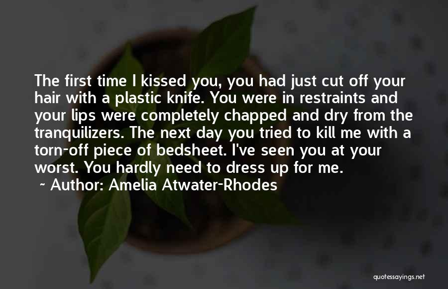 One Piece Dress Quotes By Amelia Atwater-Rhodes