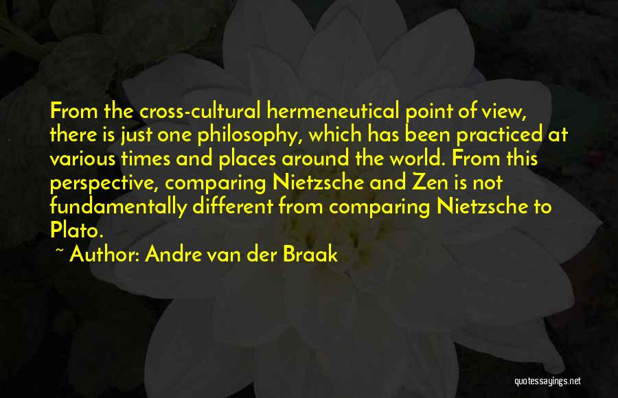 One Point Perspective Quotes By Andre Van Der Braak