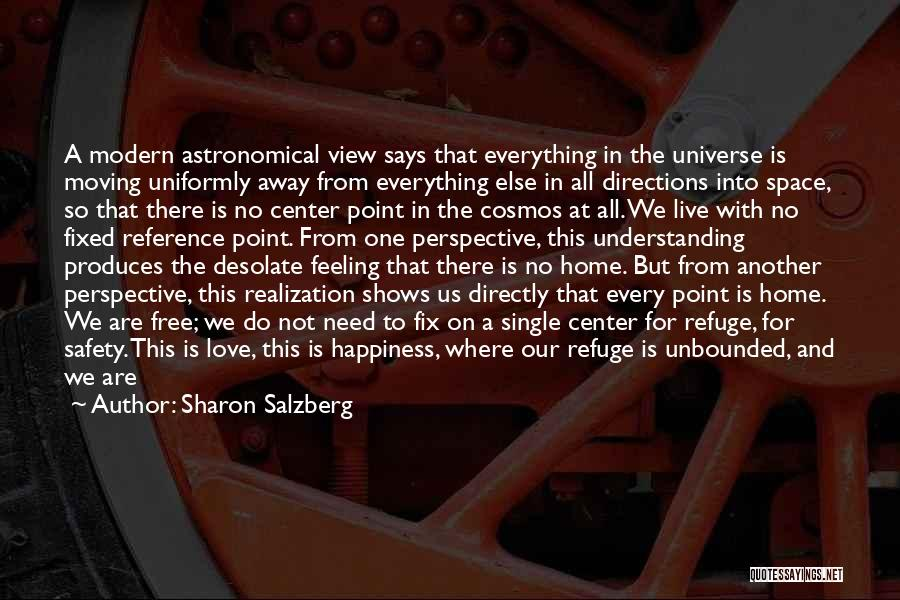 One Point Perspective Quotes By Sharon Salzberg