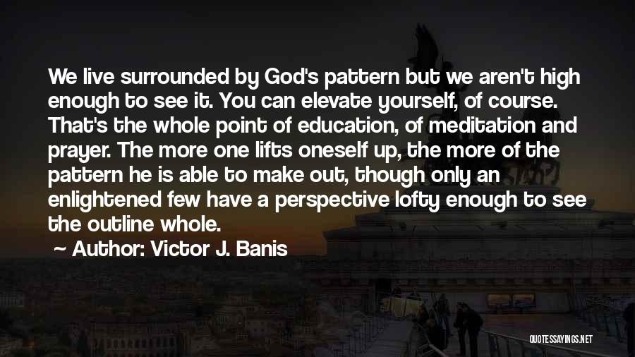 One Point Perspective Quotes By Victor J. Banis