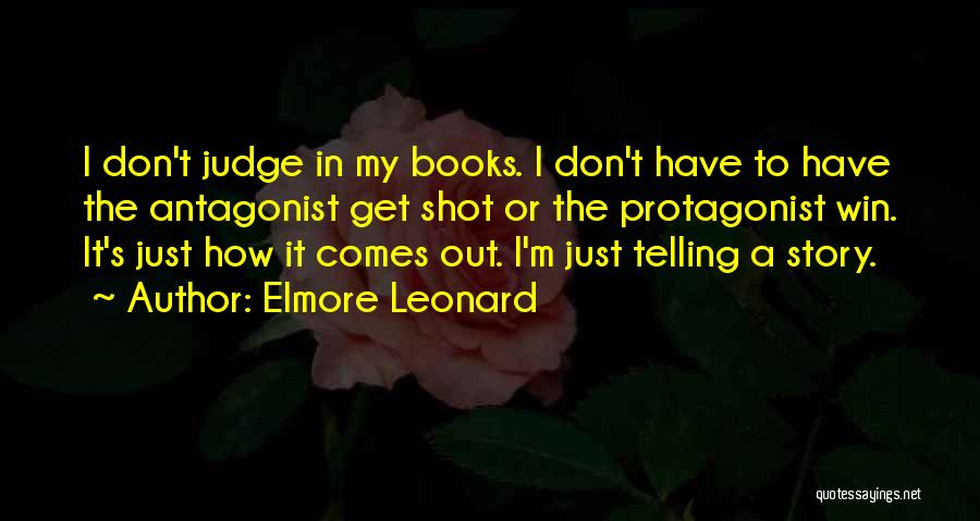One Shot Book Quotes By Elmore Leonard