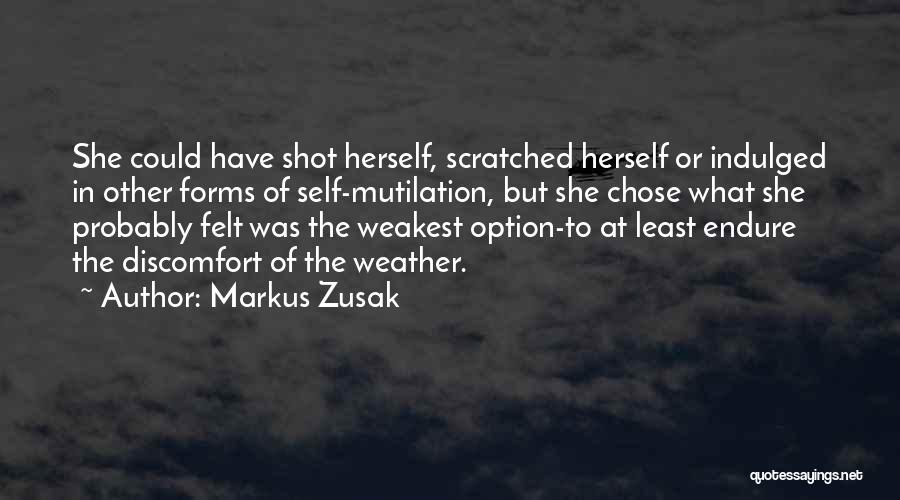 One Shot Book Quotes By Markus Zusak