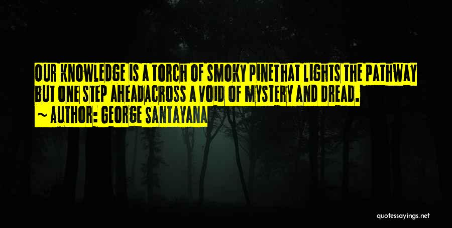 One Step Ahead Quotes By George Santayana