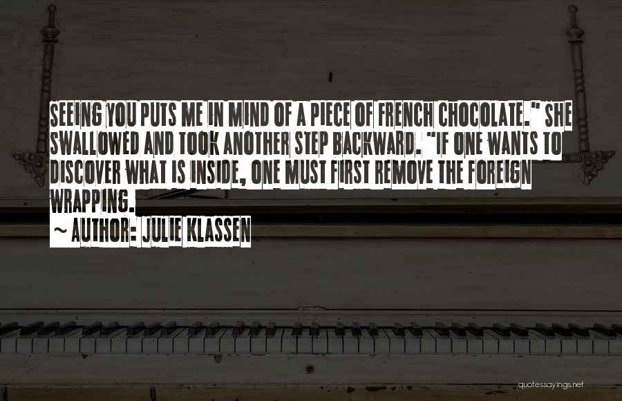 One Step Backward Quotes By Julie Klassen