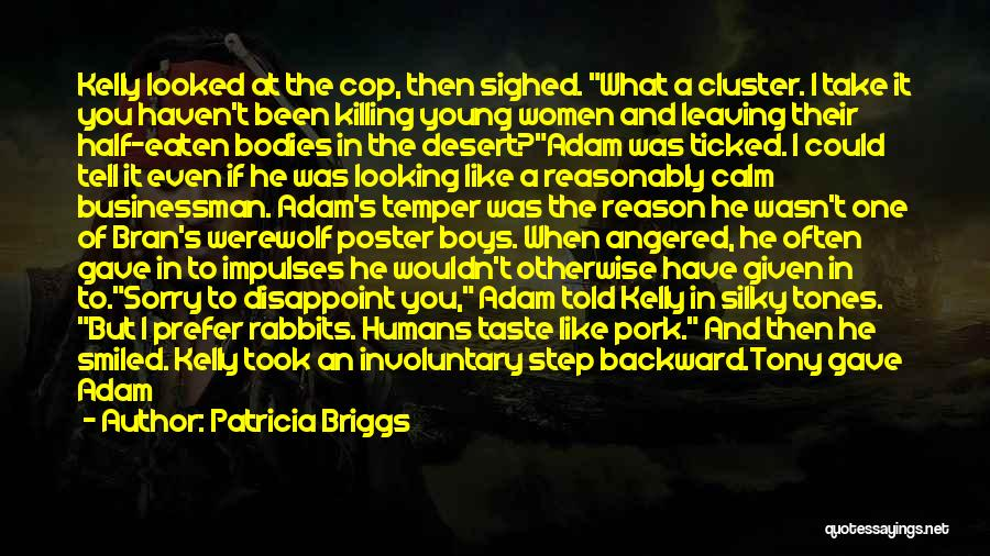 One Step Backward Quotes By Patricia Briggs