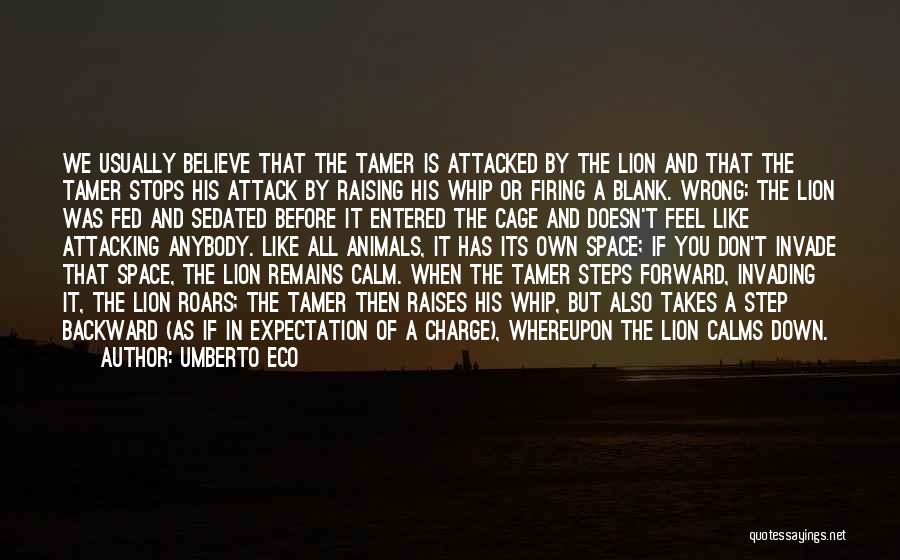 One Step Backward Quotes By Umberto Eco