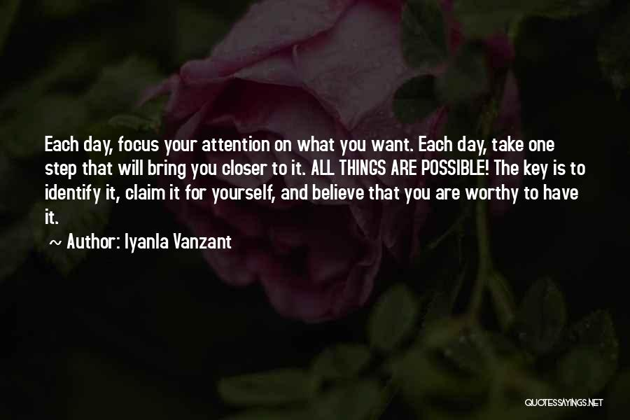One Step Closer Quotes By Iyanla Vanzant