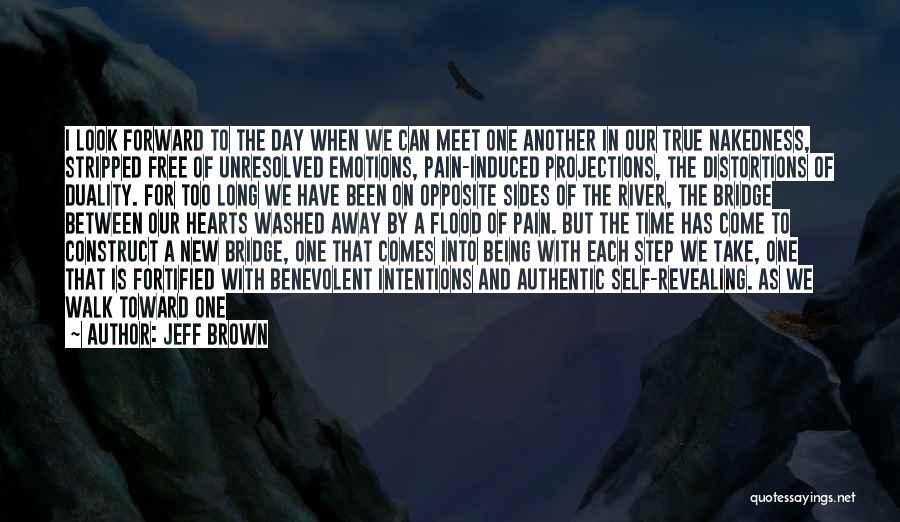 One Step Forward Quotes By Jeff Brown